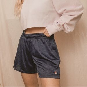 Champion navy shorts